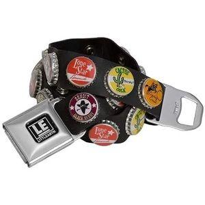 Little Earth Bottle Cap Belt
